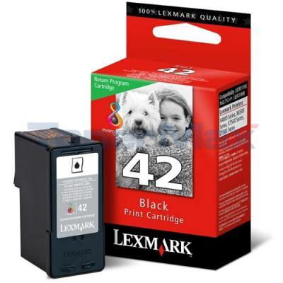 LEXMARK NO 42 PRINT CARTRIDGE BLACK RP